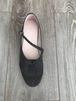 Swing Shoe Charcoal top view