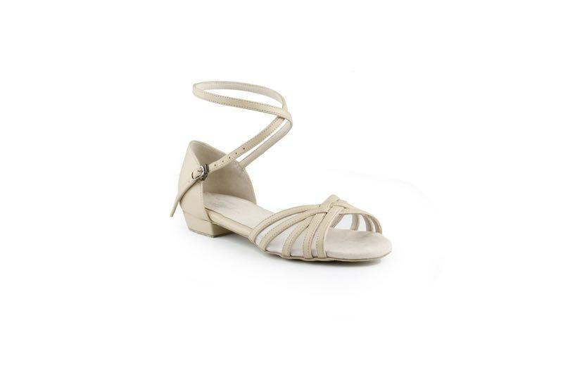 Defy low heel sandals- with Mesh