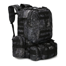 Load image into Gallery viewer, Outdoor 50L Military Rucksacks Tactical Backpack