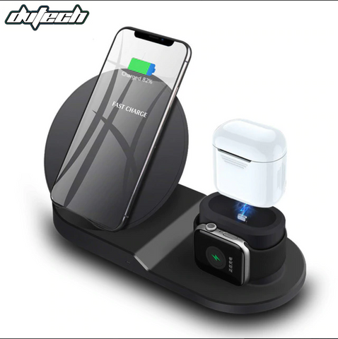 DvTech x 3 in 1 Wireless Charger (for iPhone, AirPods and Apple Watch) - DvTech.us