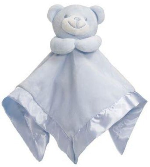 Baby Bear Blue Comforter With Satin Back & Trim - Baby Styles