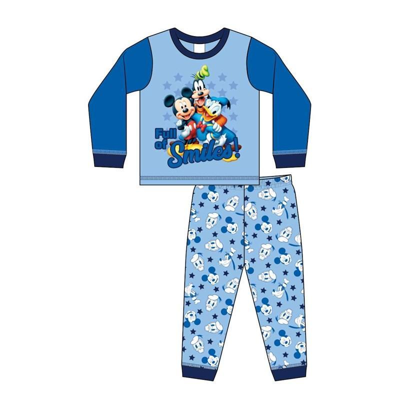 "Baby Boys Mickey Mouse ""Smiles"" Pyjamas - Baby Styles"