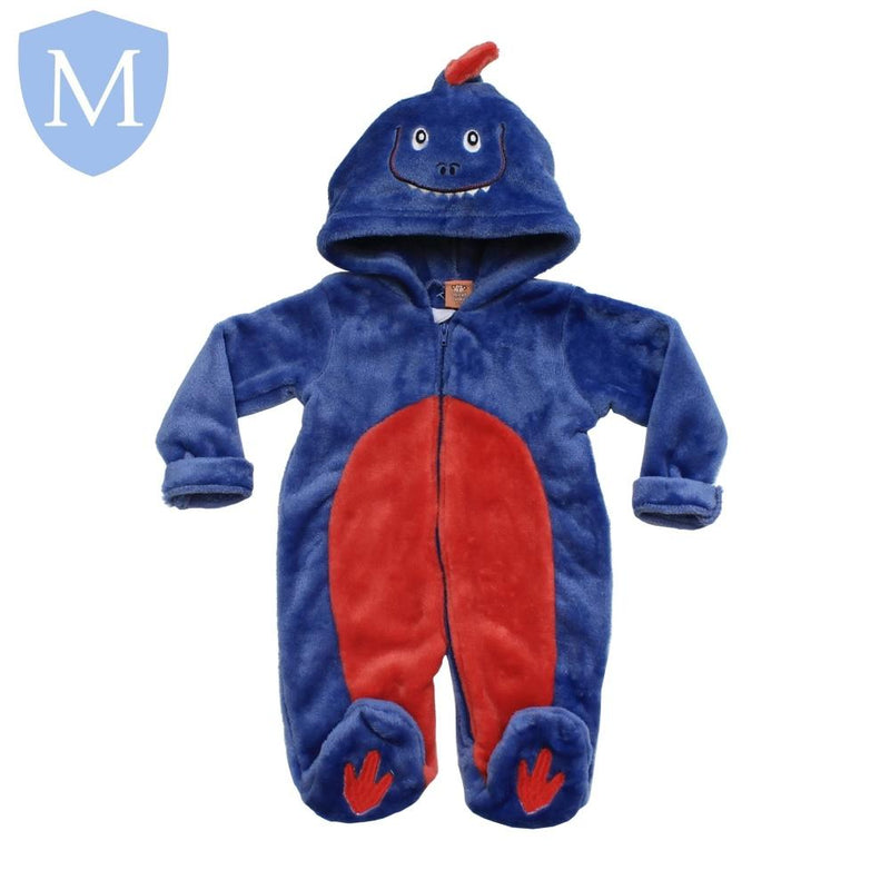 "Baby ""Blue Dino"" Style Fluffy Onesie (45JTC8028) - Baby Styles"