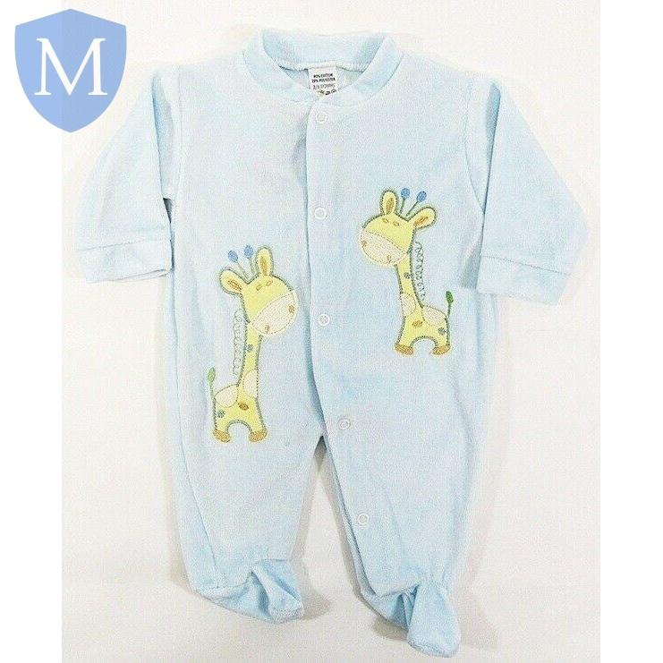 "Baby Boys Blue ""Giraffe"" Style All In One (1280) - Baby Styles"