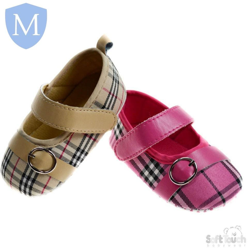 "Baby ""Checkered"" Style Shoes (B2060) - Baby Styles"