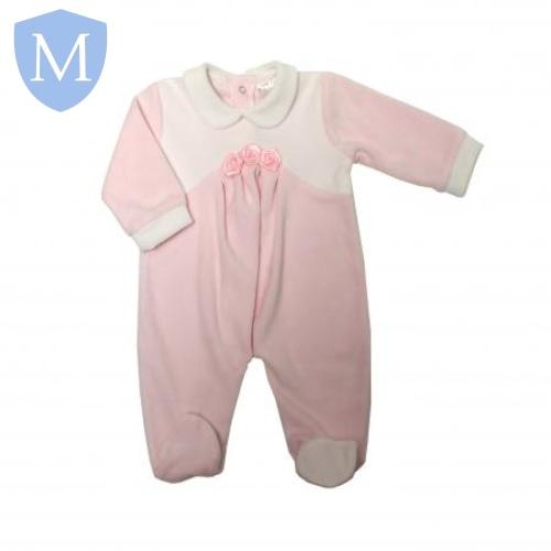 "Baby Girls "" Satin Flowers"" Style All In One (40JTC8650) - Baby Styles"