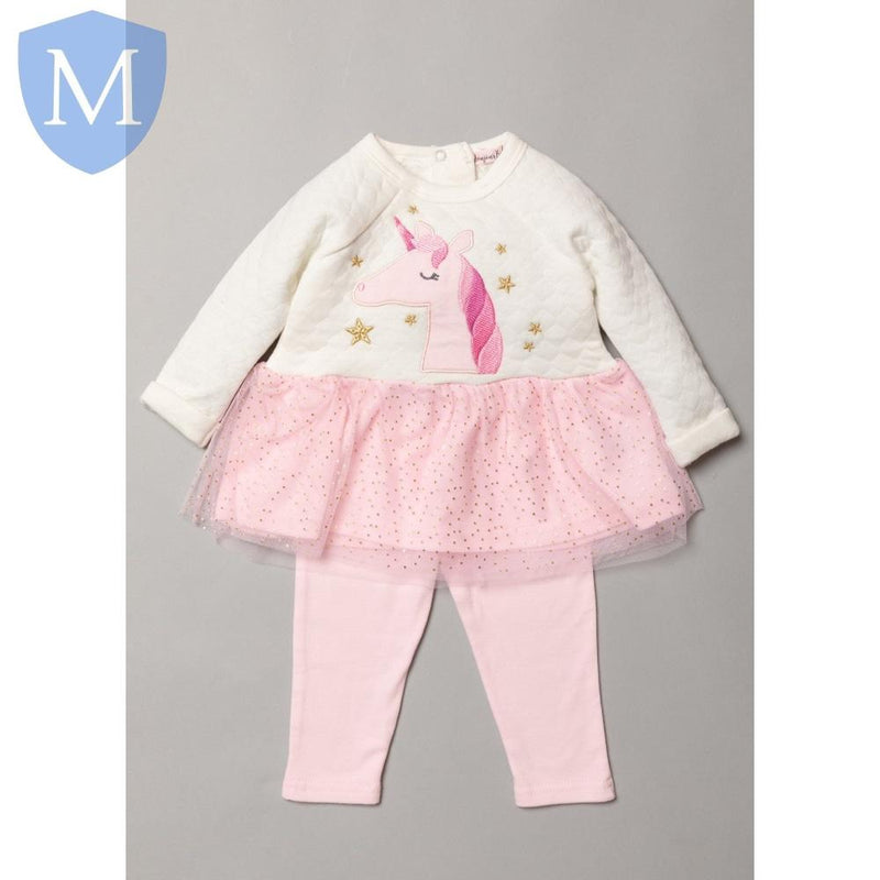 Baby Girls Winter Unicorn 2 Piece Set (Top & Bottoms Outfit) (S19015) - Baby Styles