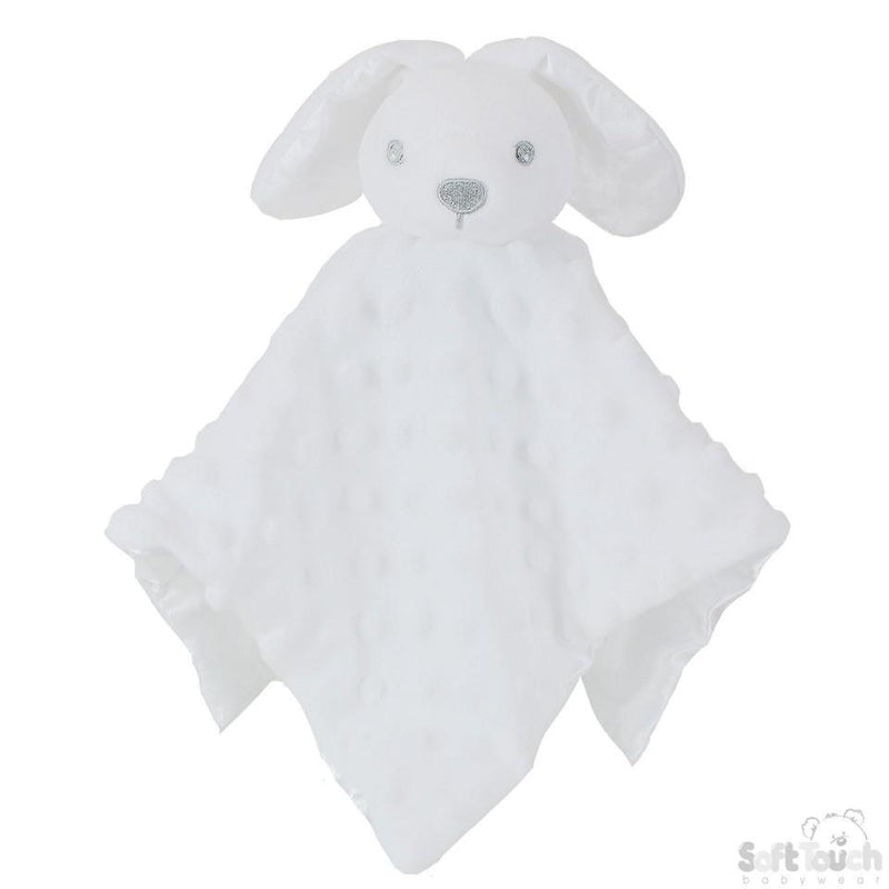 White Bubble Style Baby Bunny Comforter - Baby Styles
