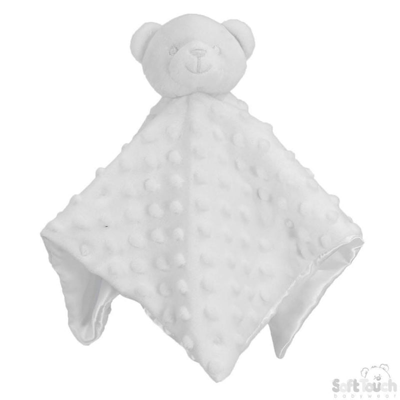 White Bubble Style Baby Bear Comforter - Baby Styles