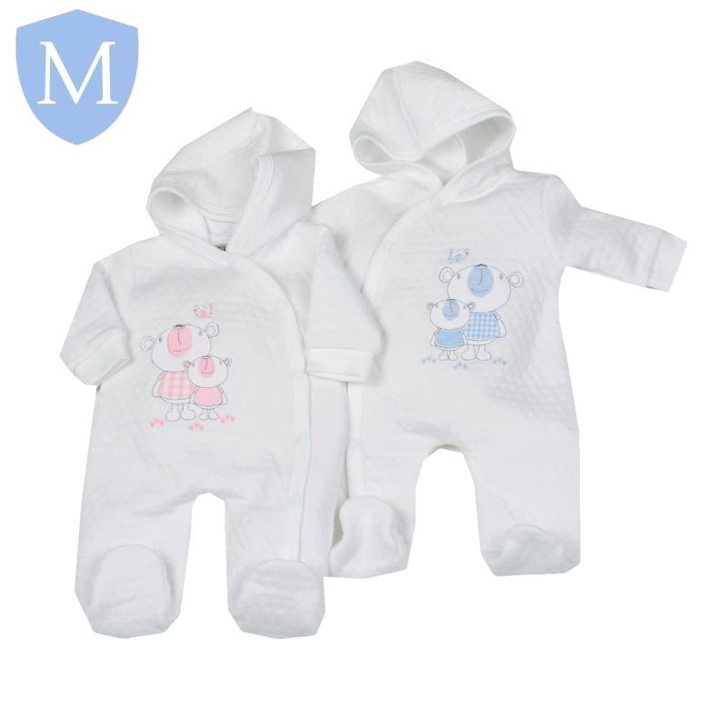 "Premature Baby Girls ""Pointelle"" All In One (*NA*) - Baby Styles"