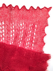 Heirloom Lace Scarf in Silk & Superkid Mohair