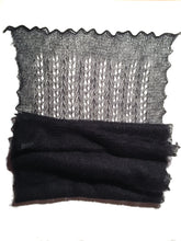 Load image into Gallery viewer, Heirloom Lace Scarf in Silk & Superkid Mohair