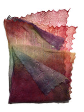 Load image into Gallery viewer, A Gorgeous Heirloom Lace Stole in a Unique Blend of Lovely Colours