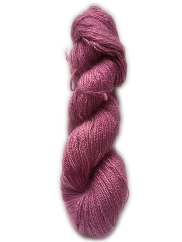 Kettle Dyed Clover Pink English Grown Kid Mohair Yarn