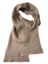 Load image into Gallery viewer, Hand Made Pastel scarf in Wool and Angora fibre
