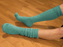 Load image into Gallery viewer, Knee Length Walking Sock with a Comfy Cushion Sole