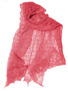 A Lovely Cobweb Lace Scarf