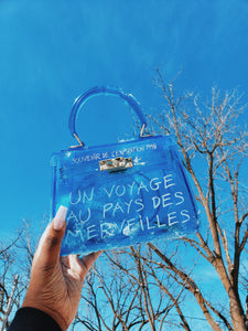 Aqua Fun In Paris Crossbody
