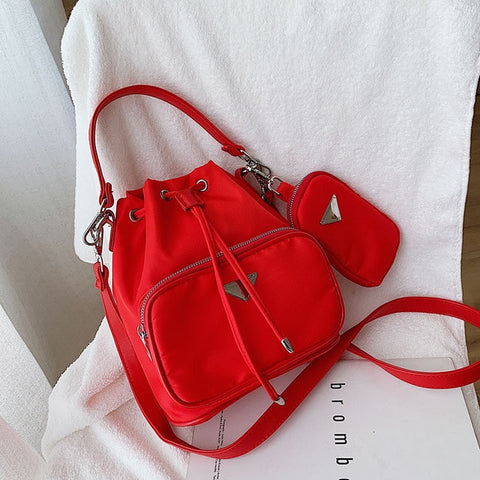 Ellie Drawstring Crossbody Bag