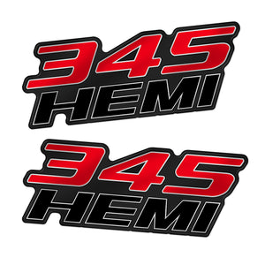 345 Hemi Fender Badge