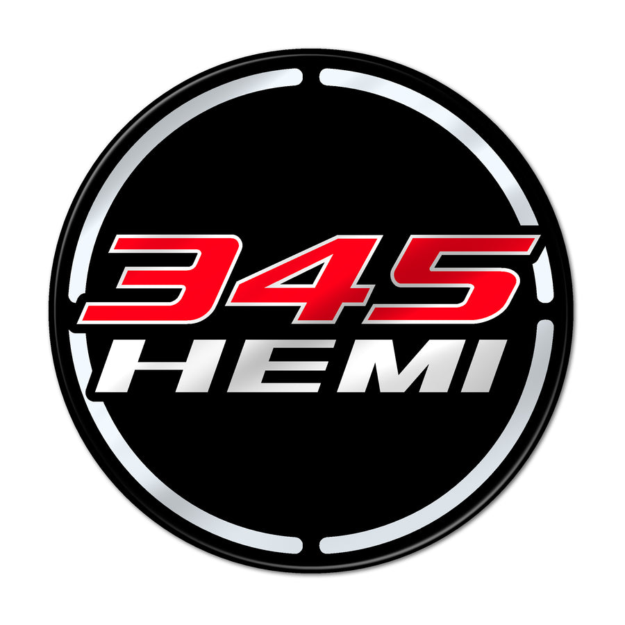 """345 Hemi"" Engine Bay Cup Holder Inlay"