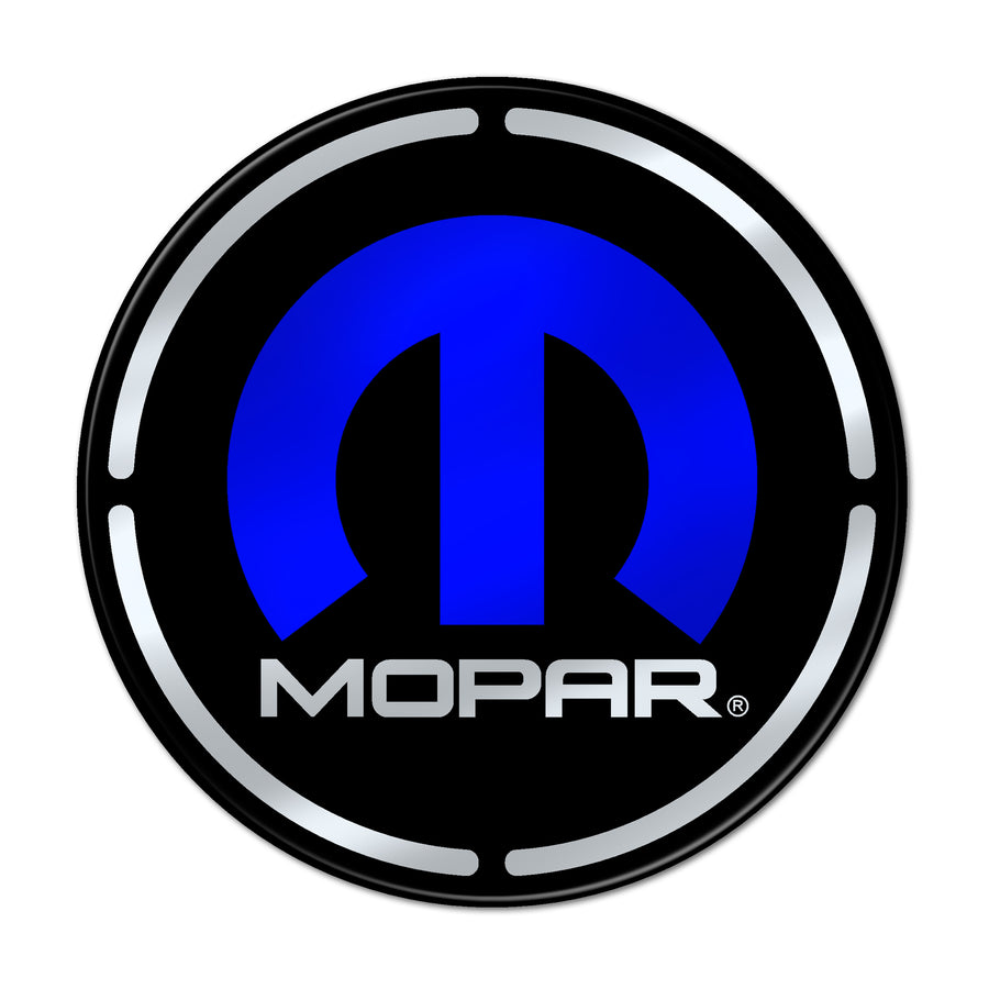 """Mopar"" Engine Bay Cup Holder Inlay"