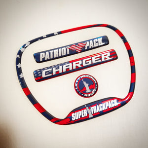 "Charger ""Patriot Pack"" Themed 4-Piece Set"