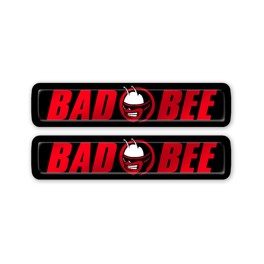 """Bad Bee"" Key Fob Inlay"