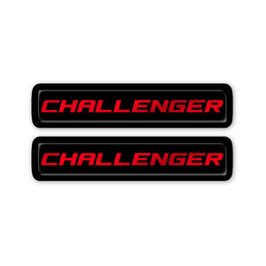 """Challenger"" Key Fob Inlay"