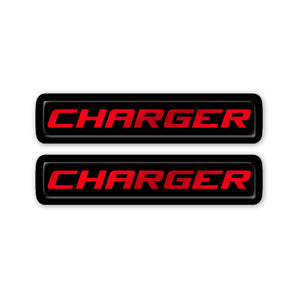 """Charger"" Key Fob Inlay"