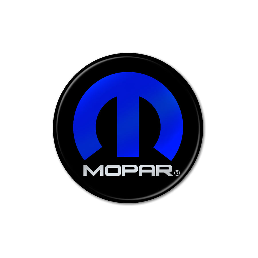 """Mopar"" Fuel Door Inlay"