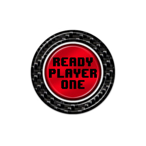 "GTR ""Ready Player One"" Start Button"
