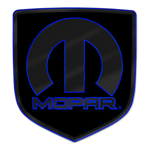 """Matte Mopar"" Ram Shield Badges"