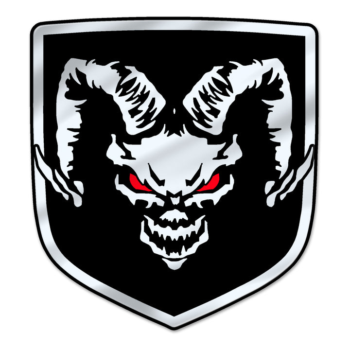 """Devil Ram"" Shield Badges"