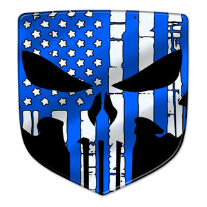 """Patriot Punisher"" Ram Shield Badges"