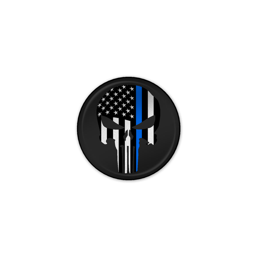 """Thin Blue Line Punisher"" Start Button"