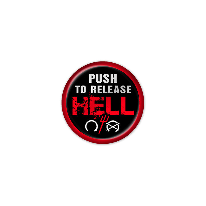 """Push to Release Hell"" Start Button"