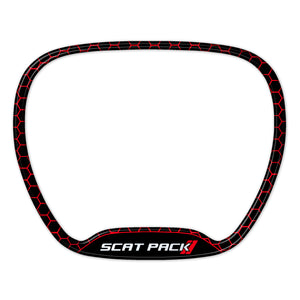Scat Pack Honeycomb Steering Wheel Trim Ring
