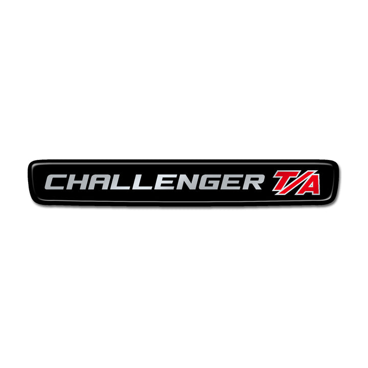 """Challenger T/A"" Steering Wheel Center Badge"