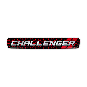 """Honeycomb Challenger"" Steering Wheel Center Badge"