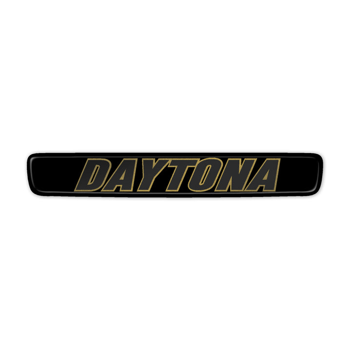 """Gold Daytona"" Steering Wheel Center Badge"