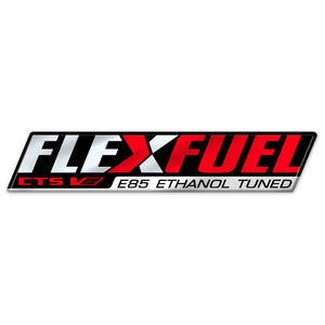 CTS-V E85 Flex Fuel Badge