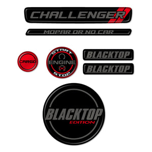 "Challenger ""Blacktop"" Themed 8-Piece Set"