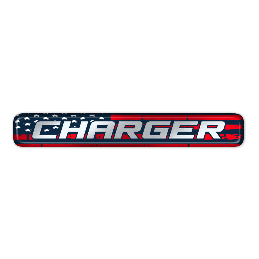 """Charger Patriot Pack"" Dash Badge"