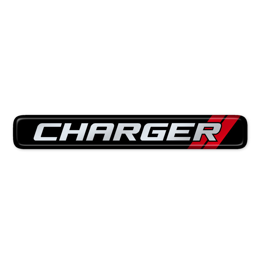 """Charger"" Dash Badge"