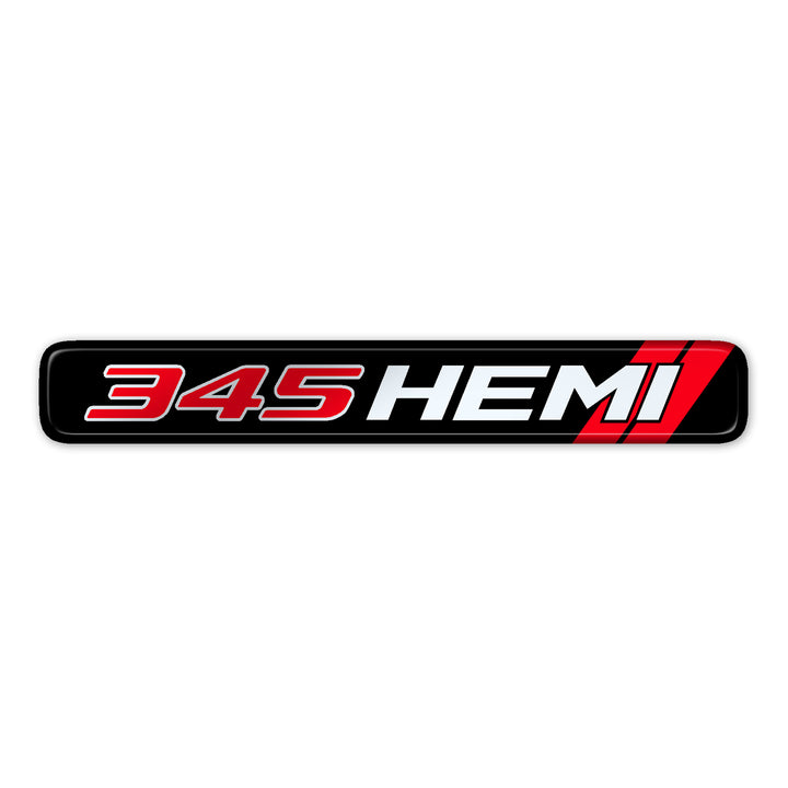 """345 Hemi"" Dash Badge"