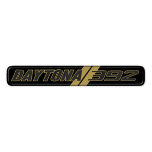 Gold Daytona 392 Dash Badge