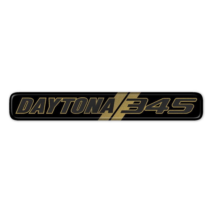 Gold Daytona 345 Dash Badge