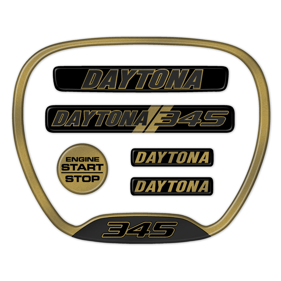 Gold Daytona 345 Themed 6-Piece Set