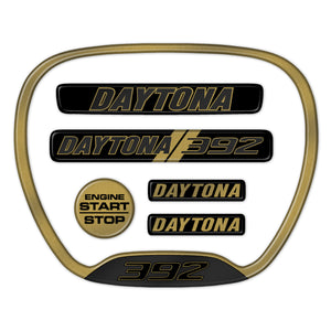 Gold Daytona 392 Themed 6-Piece Set